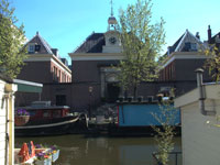 Brienenhofje, inner court, courtyards of the Jordaan in Amsterdam
